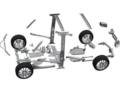 Automotive manufacturing products